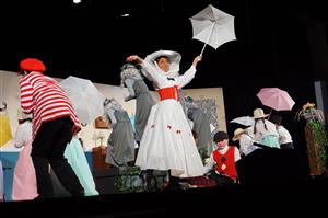 Scene from Mary Poppins Jr. - Carrboro Elementary