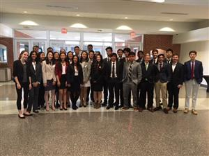 East Chapel Hill High DECA Students
