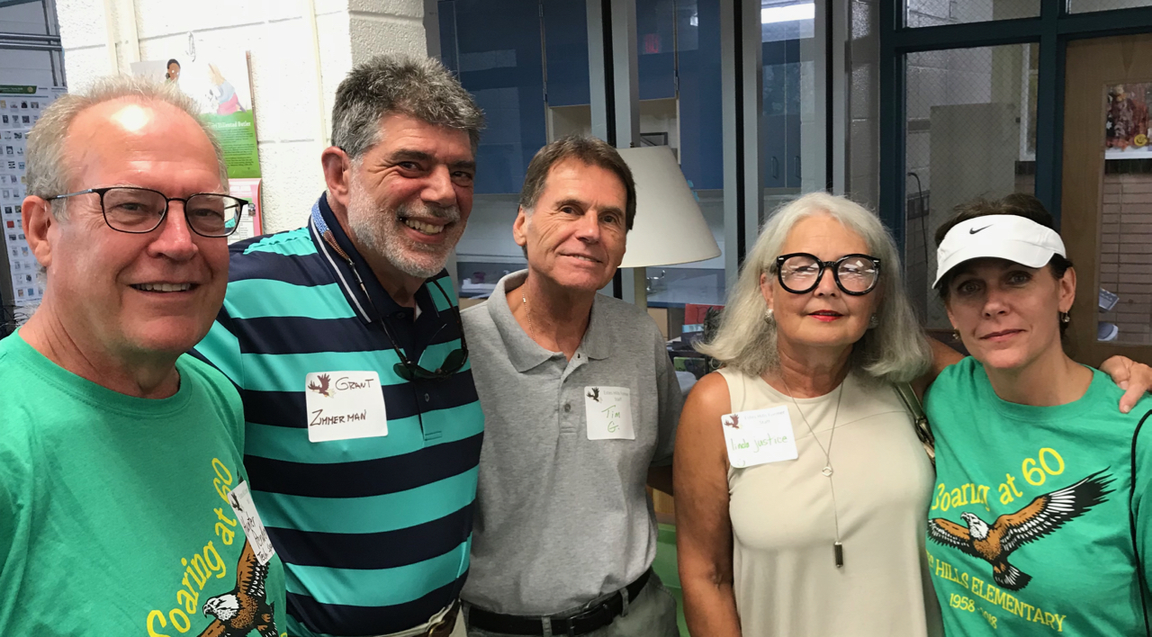 Old Friends Meet at Estes Hills' 60th Kickoff