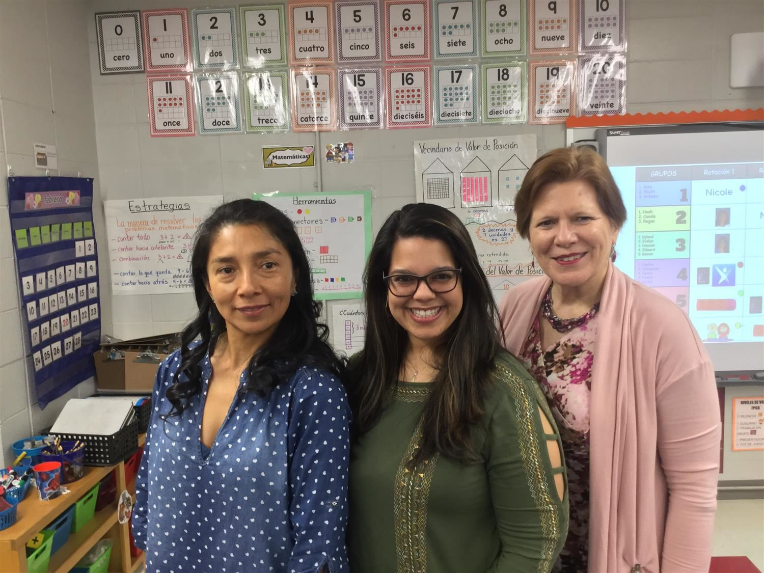 Picture of Betty Restrepo, Ilia Nazario, and Janice Anderson