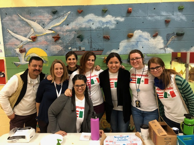 FPG staff fundraising to help a school in Puerto Rico