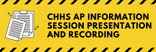 AP Information Night - Monday, February 8 at 6:00