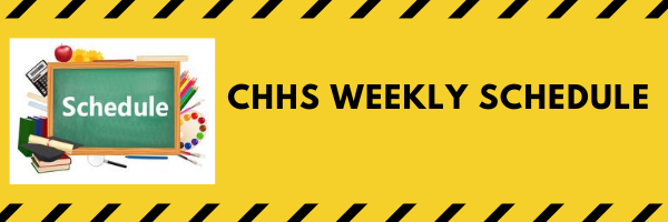 (2020-2021) CHHS Weekly Schedule