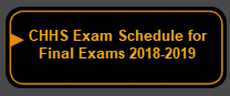 Chapel Hill High School Final Exam Schedule-2018-19