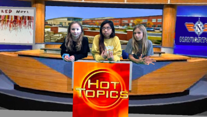 Hot Topics, one the exciting segments of this week's Navigator News.