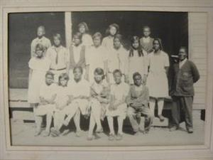 Historical Morris Grove Students