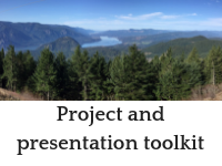 Project toolkit button