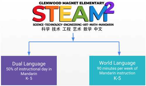 STEAM world language/dual language tracks