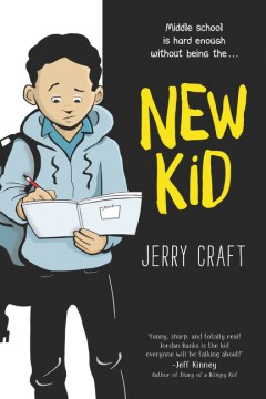 Book Cover of New Kid by Jerry Craft