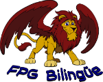 FPGB Flying Lion mascot