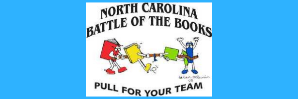 NCSLMA Battle of the Books Logo
