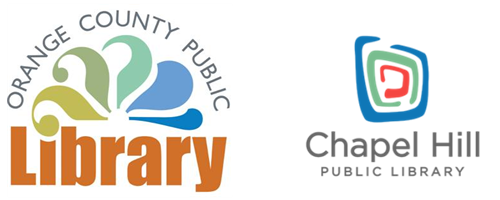 Orange County and Chapel Hill Public Library Logos
