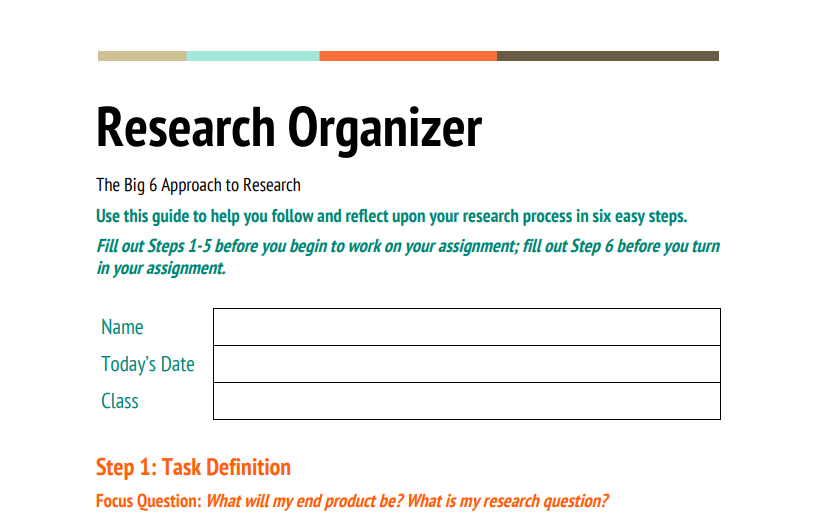 Research planner link