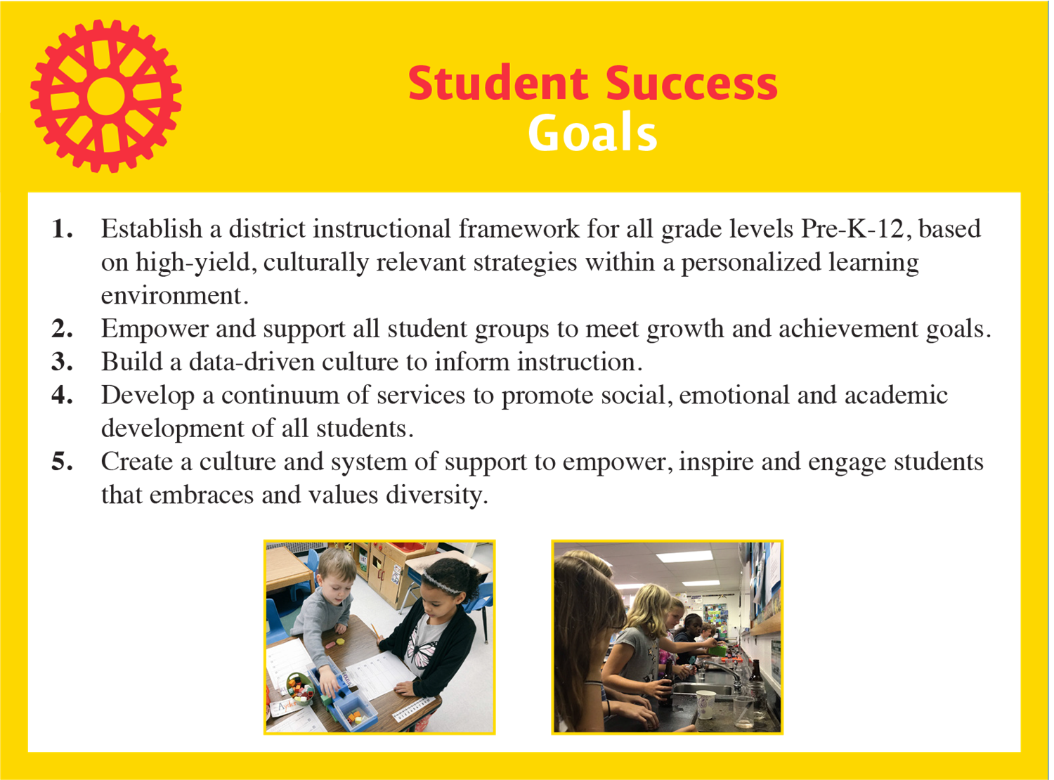 student success goals