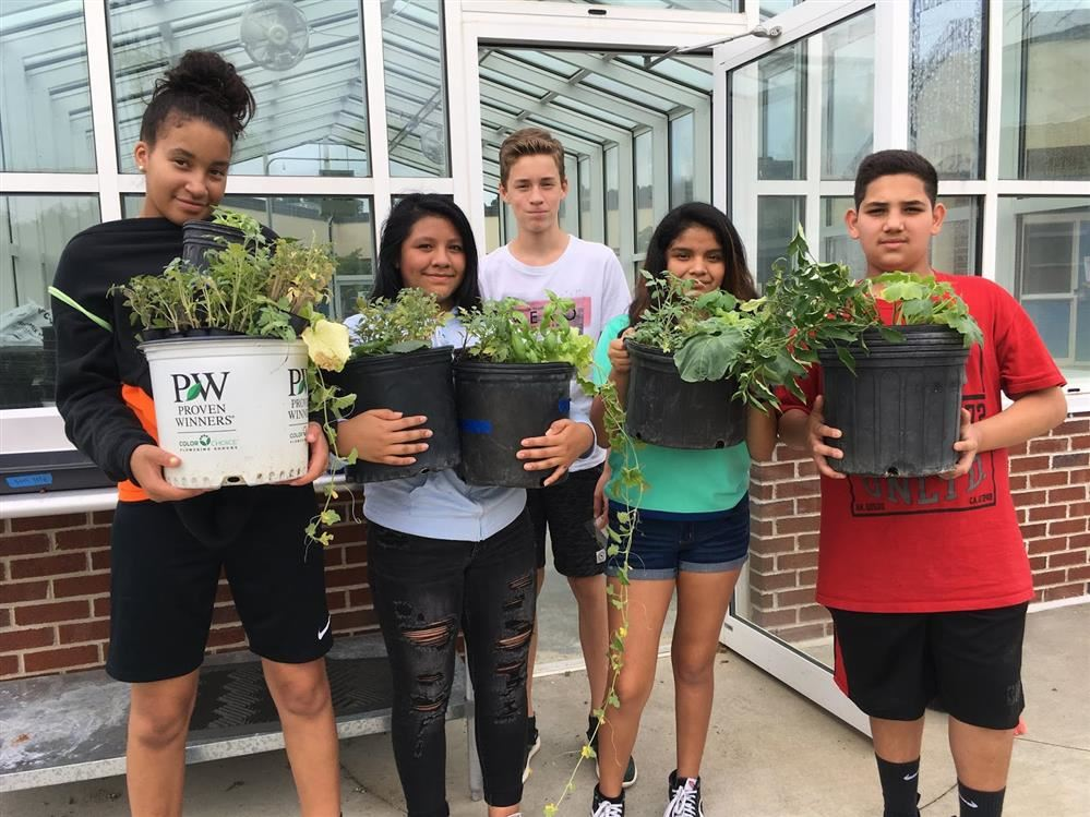 Culbreth Greenhouse Becomes a Classroom