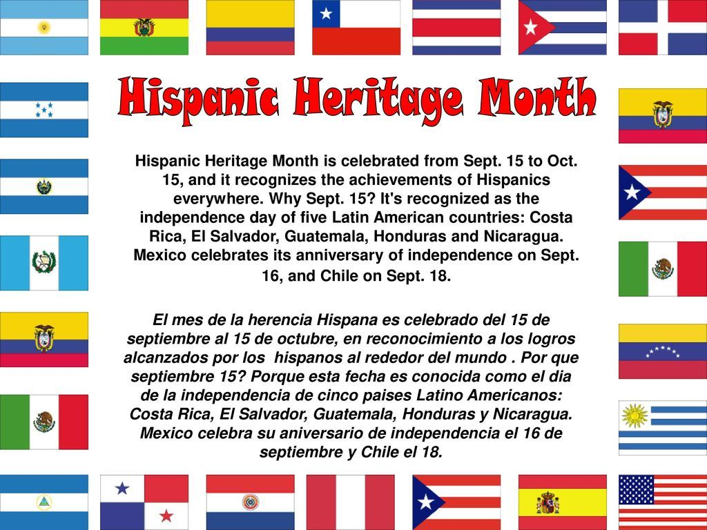 CES banner for Hispanic Heritage 2020