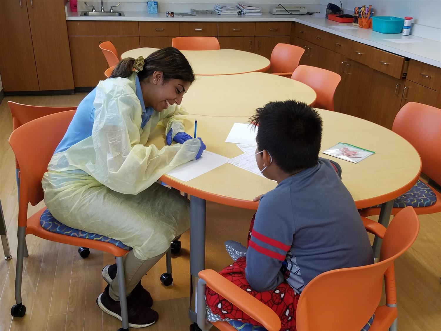 UNC Hospital School Shines for Students and Families