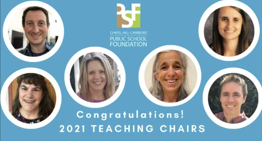 2021 PSF Teaching Chair Recipients