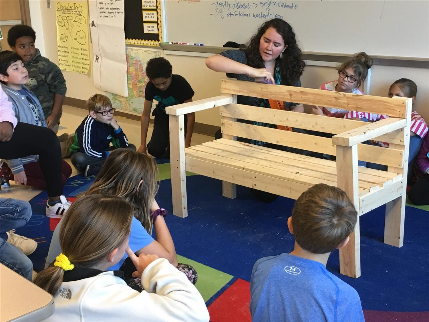 Northside Elementary Students Learn from Colonial Activities