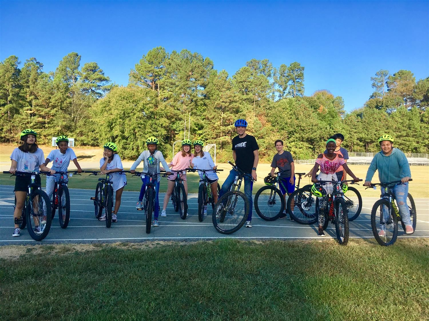 Riding for Focus Comes to CMS