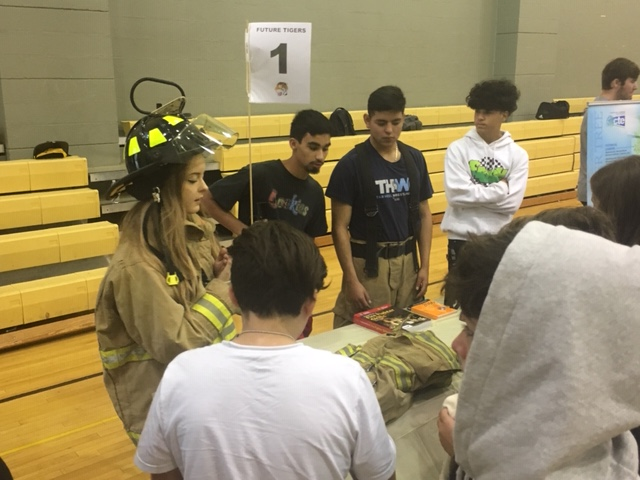 CTE visits Fire and EMT