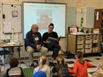 Shaws read at MSES