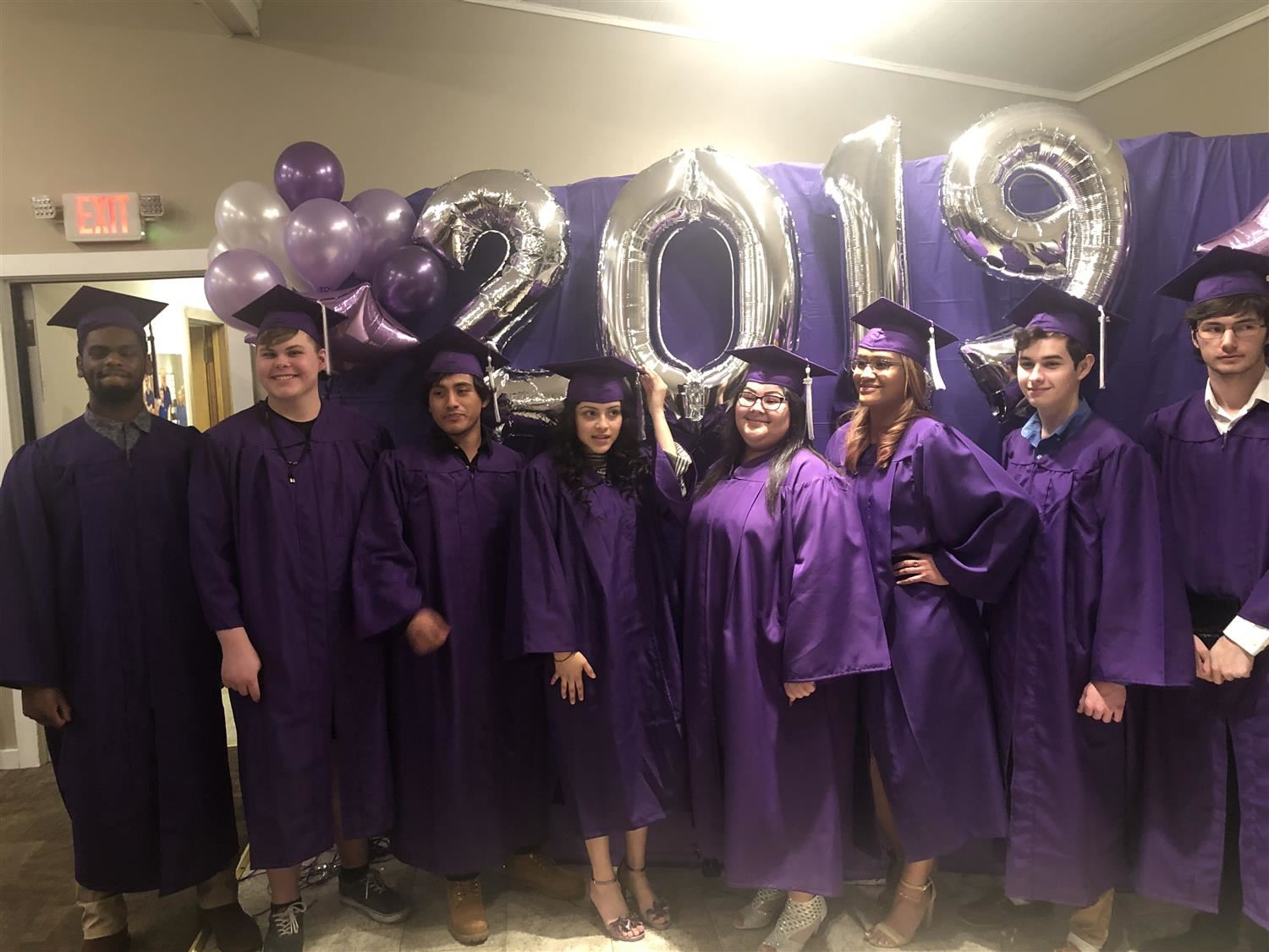 Eight Students Graduate from Phoenix Academy High School