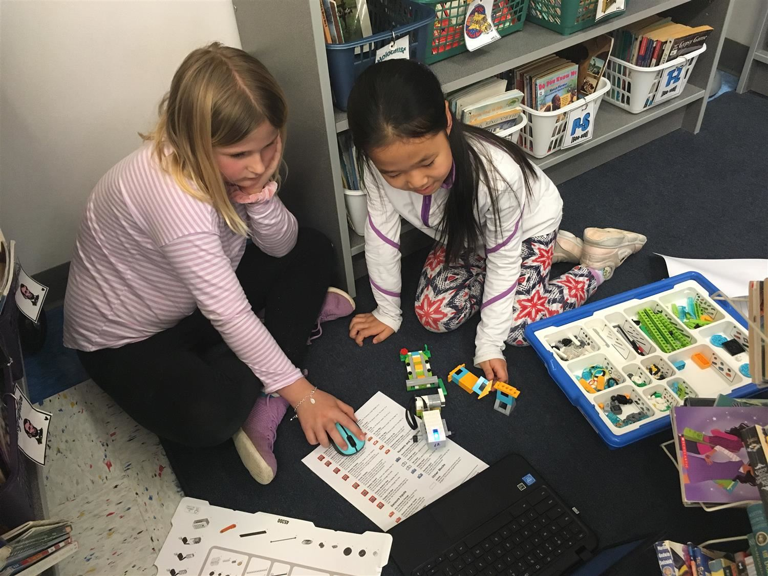 Rashkis third graders robotics