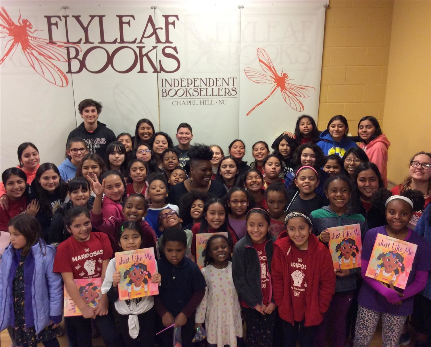 FPG students at Flyleaf