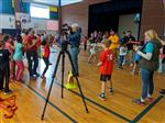 WRAL jumps rope at MGES