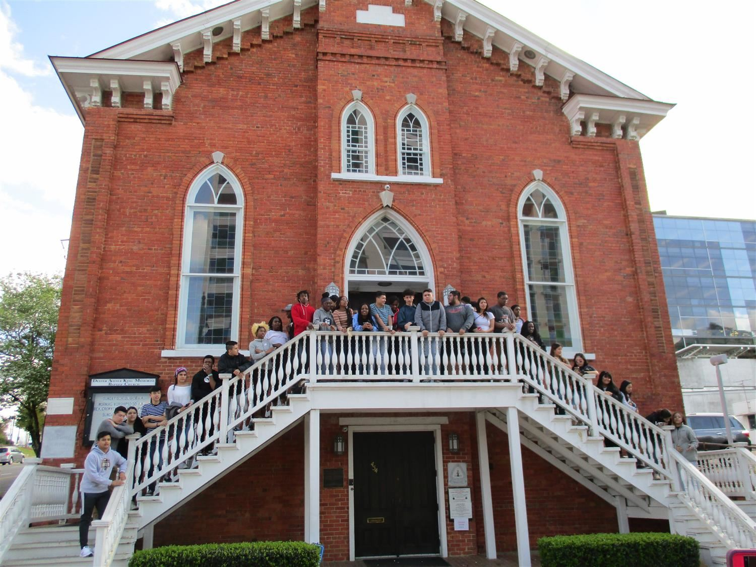 YLI students on Civil Rights trip