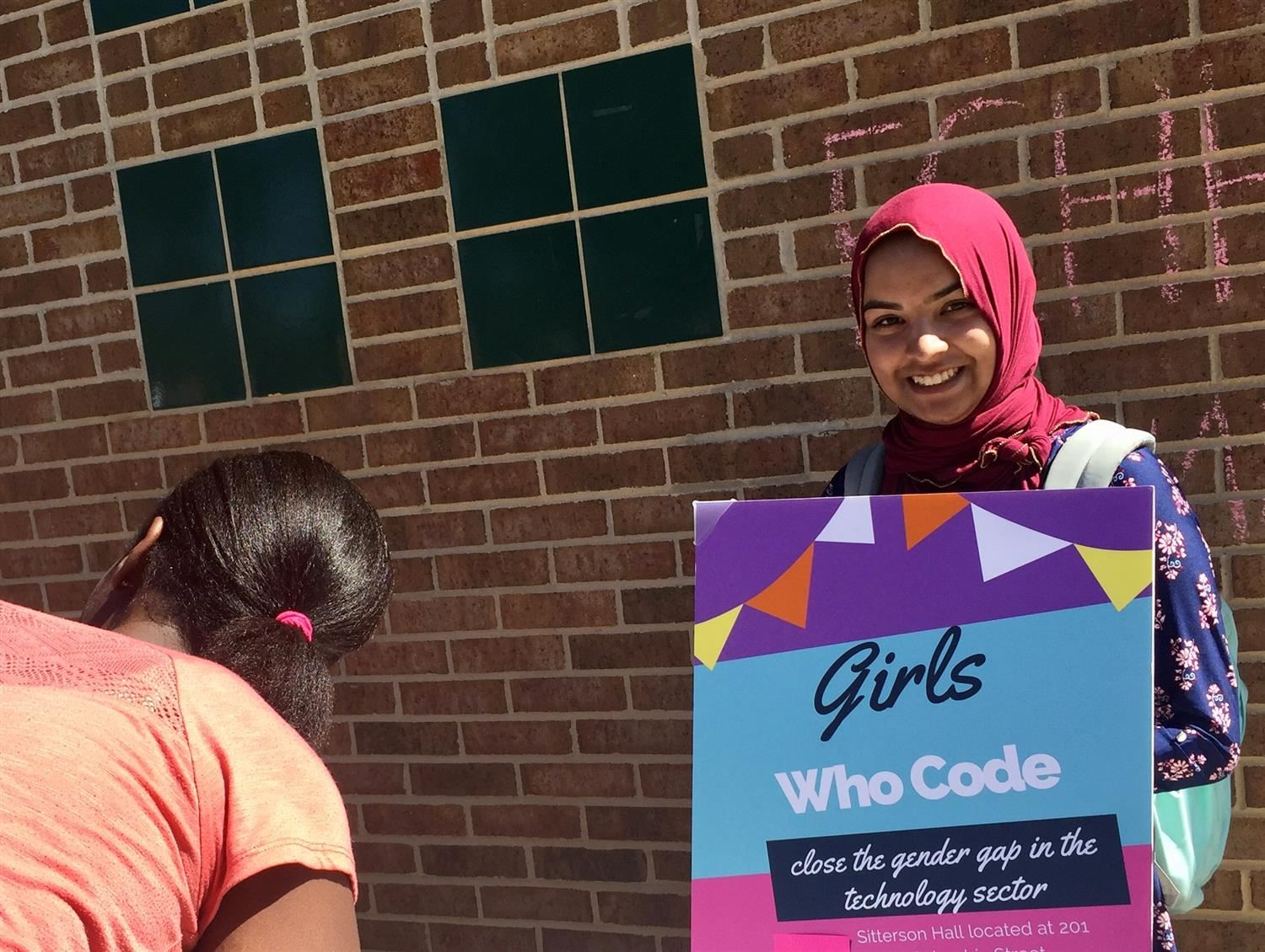 Abia Ahmed and Girls Who Code