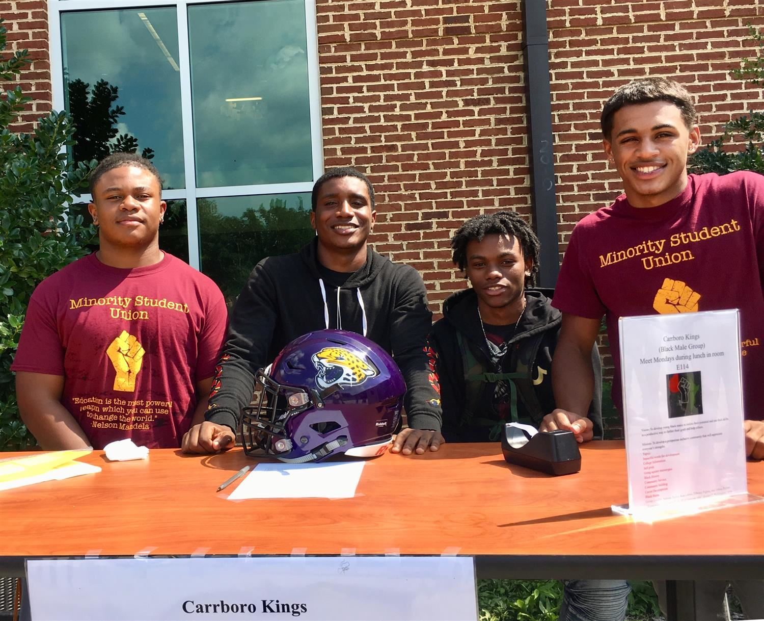 CHS Kings club at MSU kick off
